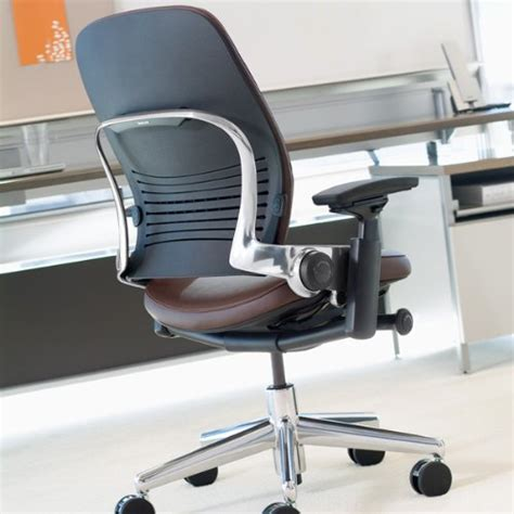 steelcase leap chair in leather industrial supply