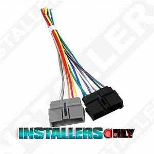 Aftermarket Car Stereo  Radio Wiring Harness  Dodge 1817 Wire Adapter  Plug