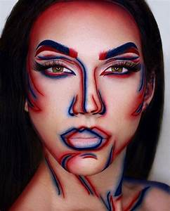Halloween Make Up Puppe : 30 mind blowing optical illusion makeup ideas bored art ~ Frokenaadalensverden.com Haus und Dekorationen