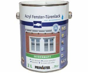 Fenster Abdichten Acryl : primaster acryl fenster und t renlack 2 l ab 26 69 preisvergleich bei ~ Frokenaadalensverden.com Haus und Dekorationen