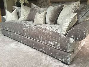 grey crushed velvet sofa all i want in life is a crushed With silver velvet sectional sofa