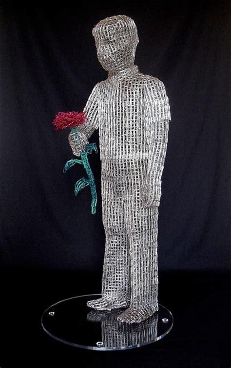 paper clip sculptures
