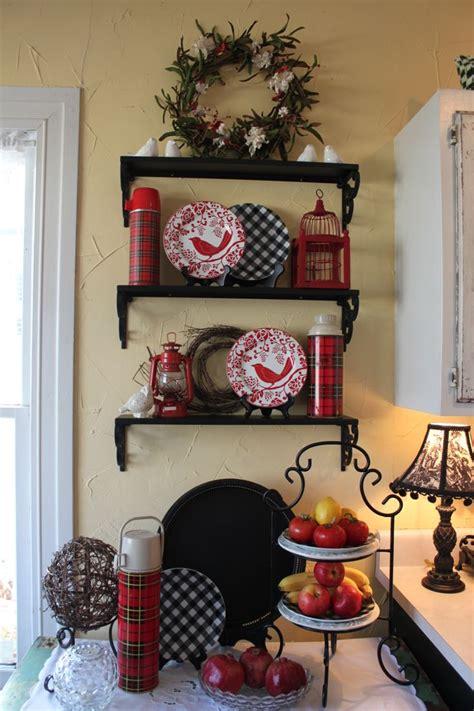 images winter decorating christmas pinterest plaid tablecloths