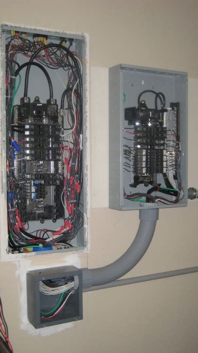 Adding Sub Panel For Transfer Switch Electrical Page