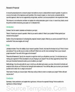 Study Proposal Template Abstract Example For Dissertation Case Study
