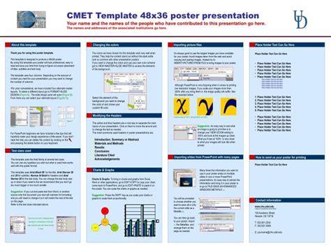 cmet template  poster  powerpoint