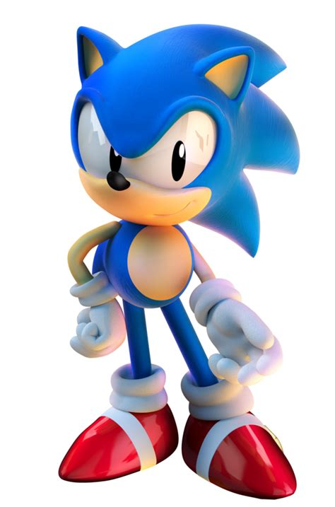Sonic the Hedgehog   Sonic unleashed, Classic sonic, Sonic