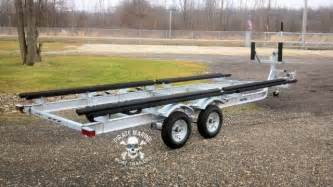 Used Pontoon Boat Trailers For Sale In Ohio by Aluminum Pontoon Trailer Columbus Ohio Boats Vehicles For