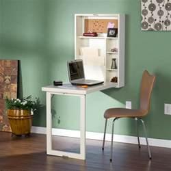 bureau pliant mural le bureau escamotable décisions pour les petits espaces