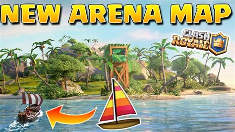 Clash Of Clans Boat Island by The Clash Royale Boat Is Taking Us To A New Island New
