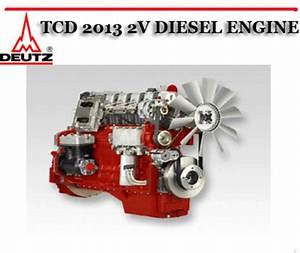 Deutz Tcd 2013 2v Diesel Engine Workshop Repair Service