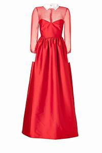 red valentino gown clothing from luxury brands With red valentino robe