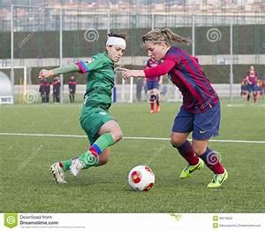 Women FC Barcelona - Jelena Cankovic Editorial Photography ...