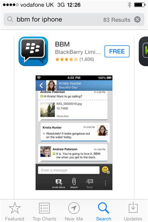 downloader for iphone learn how to bbm on your iphone and pc advisor