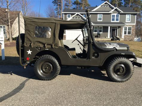 military jeep willys for sale 1953 jeep willys m38a1 for sale