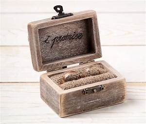 Wedding ring box ring holder pillow bearer box with hearts for Wedding ring holder box