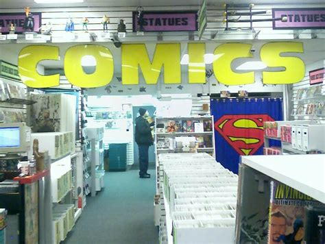 Are There Even Any Comic Book Stores Near You Anymore