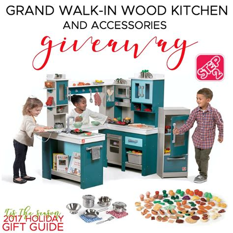 step2 grand walk in kitchen step2 grand walk in wood kitchen giveaway ends 12 13