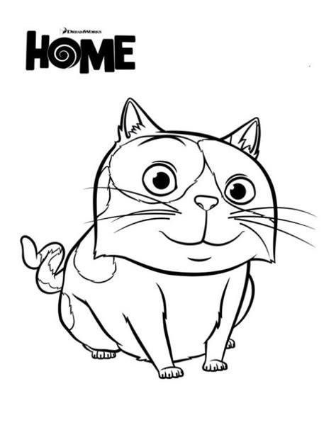 Home Kleurplaat by N Kleurplaat Home Dreamworks Pig