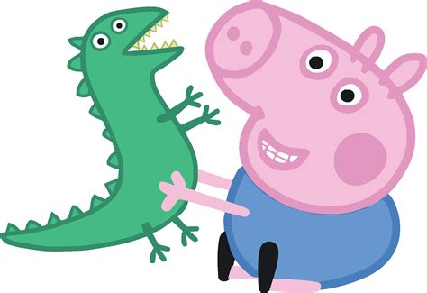 peppa pig birthday invitations sale george dino peppa pig high quality for cutting and