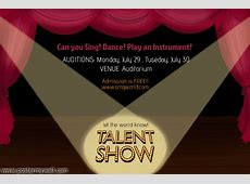 Talent Show Flyer Template PosterMyWall