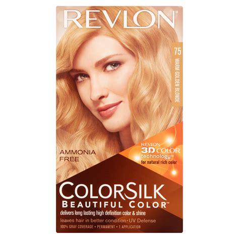 revlon colorsilk beautiful color  warm golden blonde