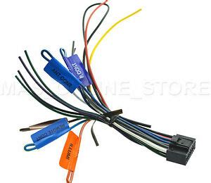 kenwood dnx690hd dnx 690hd genuine wire harness pay today ships today ebay