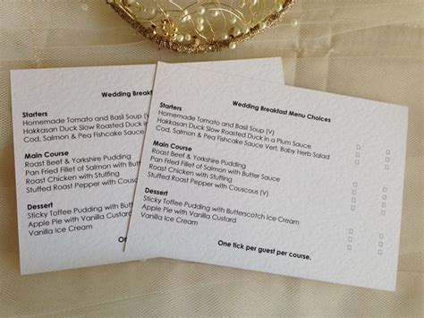 menu rsvp cards  menu choice menu reply cards menu
