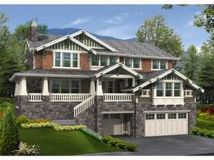 Tara Pier Craftsman Home Plan 071S 0014 House Plans And More
