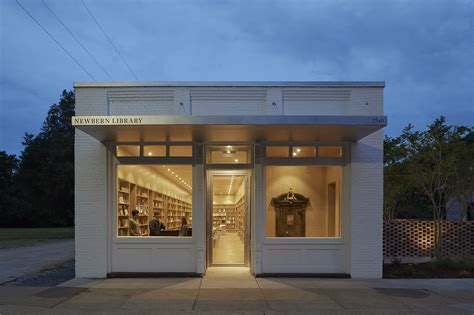 newbern library architect magazine auburn university