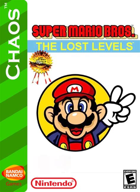Super Mario Bros The Lost Levels Box Art By Artchanxv On