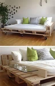 Sofa Aus Paletten Matratze : 35 recycling m bel lampen und pflanzenbeh lter ~ Michelbontemps.com Haus und Dekorationen