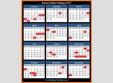 Assam India Public Holidays 2017 – Holidays Tracker