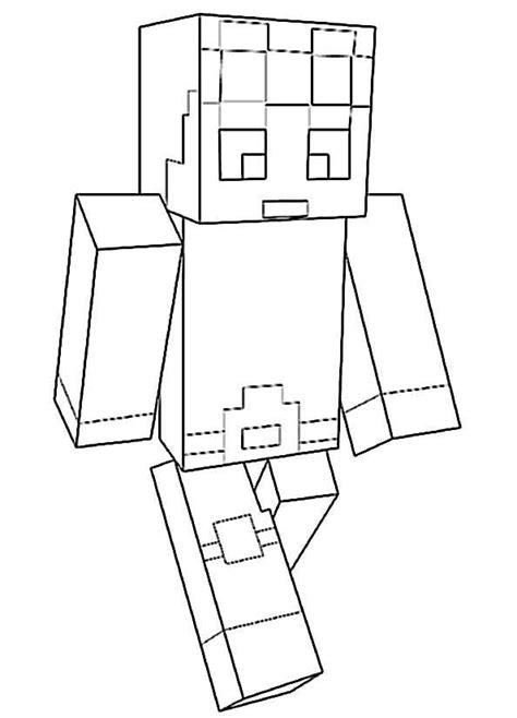 minecraft  ausmalbilder kostenlos