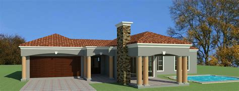 beautiful  bedroom house plans south african designs