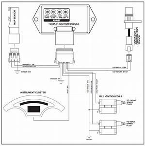Screamin Eagle Ignition Module For Tc88 In Evo Frame