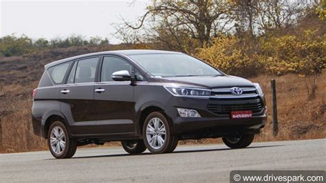 toyota innova crysta facelift 2020 toyota innova crysta fortuner prices to increase soon