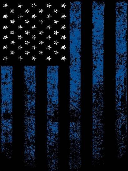 Thin Line Enforcement Law Flag Backgrounds Keepsake