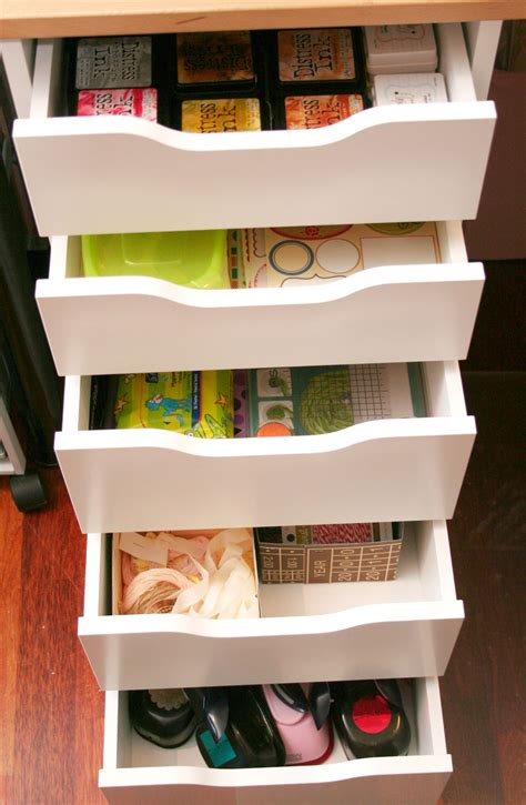 Studio Tour With Anna Sigga  Craft Storage Ideas