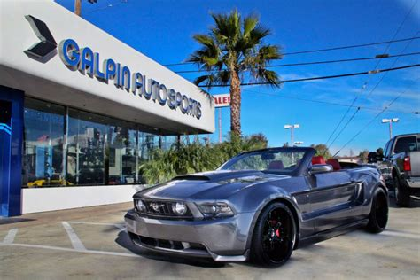 ford mustang convertible  galpin auto sports review