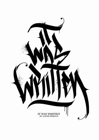Graffiti Behance Calligraphy Lettering