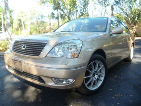 Buy Used Lexus Ls430 Ls 430 Great Cond Palm Beach Car No