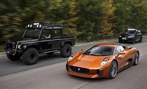 Jaguar Land Rover : jaguar c x75 land rover defender discovery spectre movie vehicles drive safe and fast ~ Maxctalentgroup.com Avis de Voitures