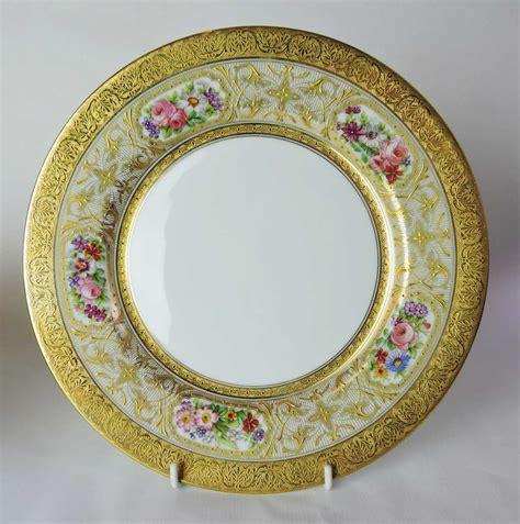 Set Of 12  Limoges, France 'depose' Dinner Plates  William Junor  Toronto & Hamilton
