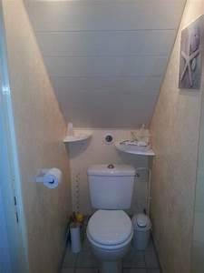 Commode Sous Pente : wc sous escalier recherche google salle de bain petite ~ Edinachiropracticcenter.com Idées de Décoration