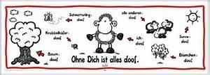 Alles Ist Doof : sheepworld ohne dich ist alles doof t rposter 158x53 ~ Eleganceandgraceweddings.com Haus und Dekorationen