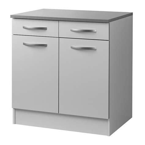 meuble bas cuisine hauteur 80 cm maison design modanes com