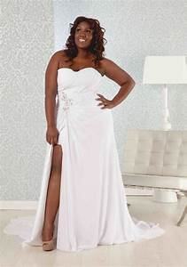 Plus size casual beach wedding dresses dresses trend for Beach plus size wedding dresses