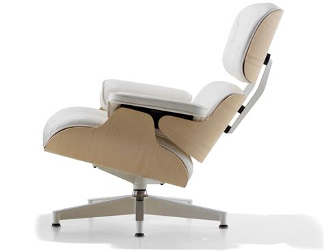 eames molded plywood dining chair white ash eames lounge chair without ottoman hivemodern com