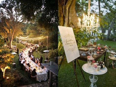 Elegant Backyard Wedding Ideas   Marceladick.com